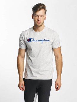 Champion T-Shirt Cotton Graphic grau