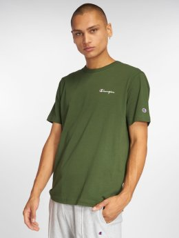 Champion t-shirt Classic olijfgroen