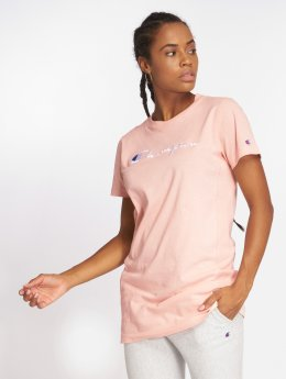 Champion T-Shirt Long rosa