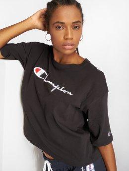 Champion T-Shirt Maxi schwarz