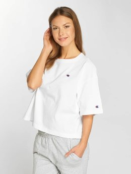 Champion Frauen T-Shirt Oversize in weiß