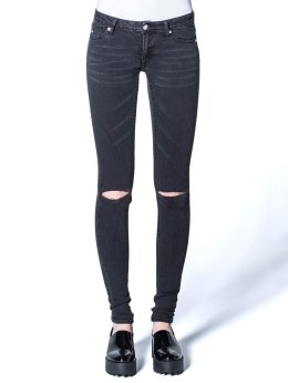 Cheap Monday Skinny Jeans Slim Cut grau