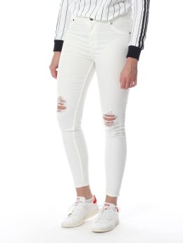 Cheap Monday Skinny Jeans High weiß