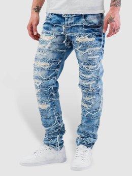 Cipo & Baxx Jean coupe droite Fray bleu