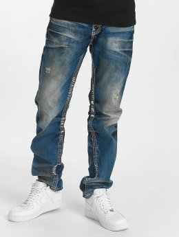 Cipo & Baxx Jeans straight fit Ekki blu