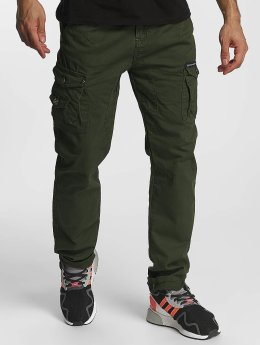 Cipo & Baxx Pantalon chino William kaki