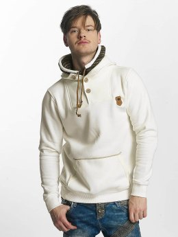 Cipo & Baxx Pullover Double Collar beige