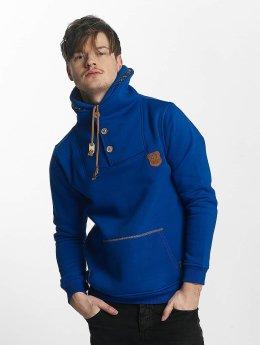 Cipo & Baxx Pullover Double Collar blau