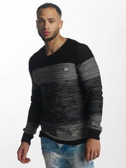 Cipo & Baxx Pullover Rouven grau