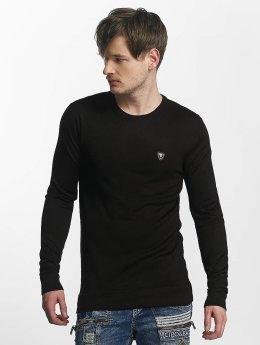 Cipo & Baxx Pullover Basic schwarz