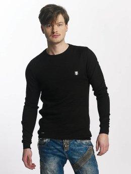 Cipo & Baxx Pullover Louis schwarz