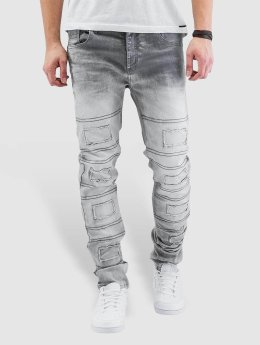 Cipo & Baxx Straight Fit Jeans Louis grau