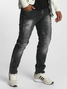 Cipo & Baxx Straight Fit Jeans Tom grau