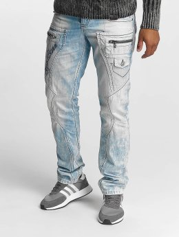 Cipo & Baxx Straight Fit Jeans James modrý