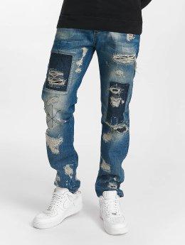Cipo & Baxx Straight Fit Jeans Mojo modrý