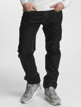 Cipo & Baxx Straight Fit Jeans Zachary schwarz