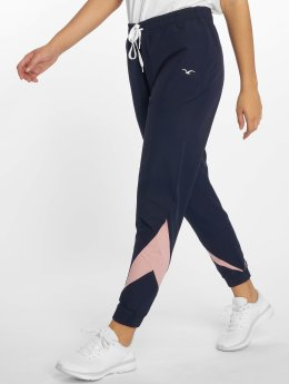 Cleptomanicx Jogginghose Retro blau