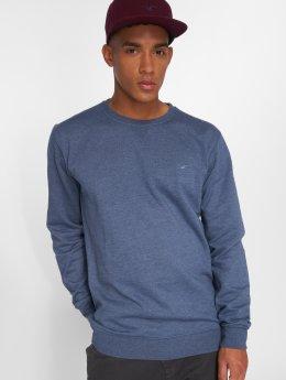 Cleptomanicx Pullover Ligull 2 blau