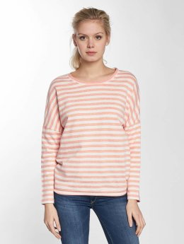 Cleptomanicx Pullover Henni Stripe orange