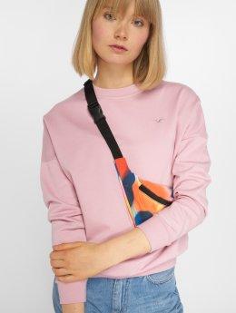 Cleptomanicx Pullover Ligull rosa