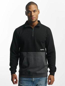 Cleptomanicx Pullover 91 Trainer schwarz