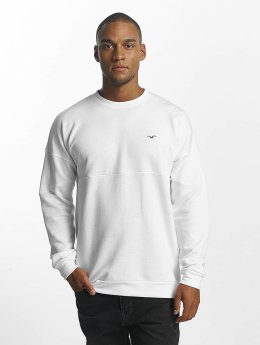 Cleptomanicx Pullover Dropshoulder weiß