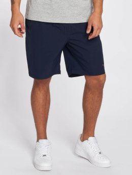 Cleptomanicx Shorts Track blau