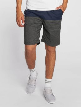 Cleptomanicx Shorts Hemp Jam blau
