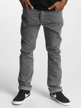 Cleptomanicx Straight Fit Jeans Port grau