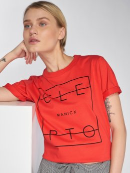 Cleptomanicx T-Shirt Lity 2 rot