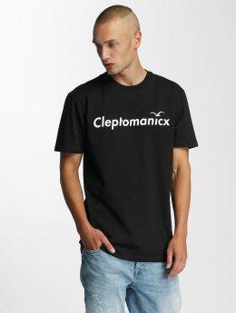 Cleptomanicx Citype T-Shirt Black