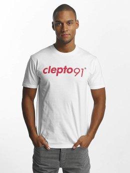 Cleptomanicx T-Shirt 91 Basic weiß