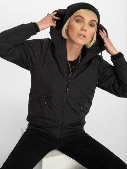 Cleptomanicx Frauen Übergangsjacke Simplist 3 in schwarz
