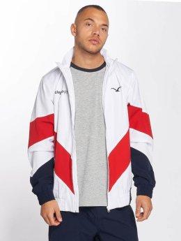 Cleptomanicx Übergangsjacke Track Jacket weiß