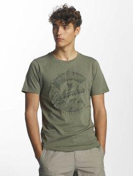Columbia Camiseta  Mosstone Heather oliva