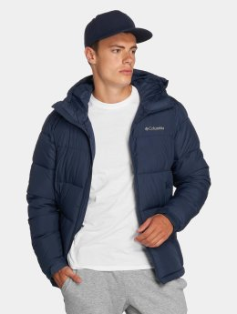 Columbia Chaqueta de invierno Pike Lake Hooded azul