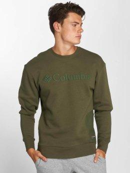 Columbia Swetry Bugasweat oliwkowy