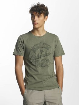 Columbia T-Shirt Mosstone Heather olive