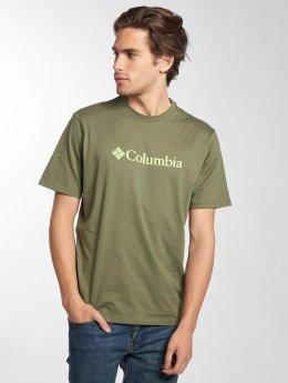 Columbia T-Shirty CSC Basic Logo oliwkowy