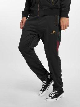 Converse Спортивные брюки Luxe Star Chevron черный
