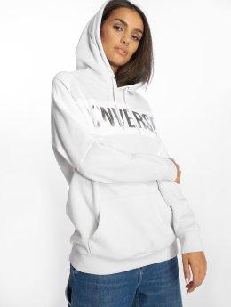 Converse Hoodie Metallic white