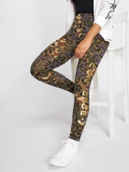 Converse Legging Animal Camo Metallic Wordmark camouflage
