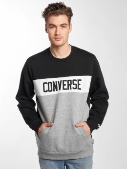 Converse Pullover Colorblock schwarz