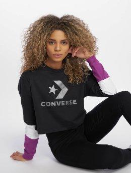 Converse Frauen Pullover in schwarz