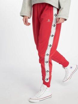 Converse Spodnie do joggingu Star Chevron czerwony