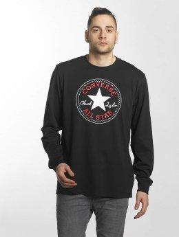 Converse T-Shirt manches longues Chuck Patch noir