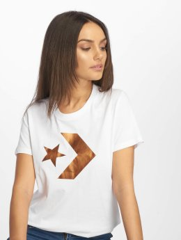 Converse t-shirt Star Chevron wit
