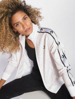 Converse Veste mi-saison légère Star Chevron Animal Print blanc