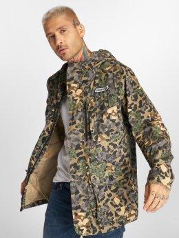 Converse Veste mi-saison légère Printed Cotton camouflage