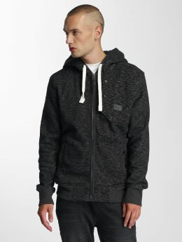 Cordon Sweat capuche zippé Limon noir
